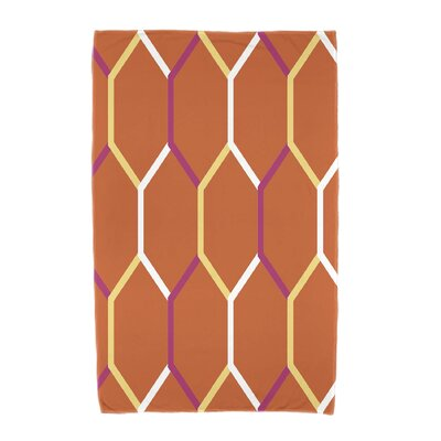 Cool Shades Beach Towel Color: Orange