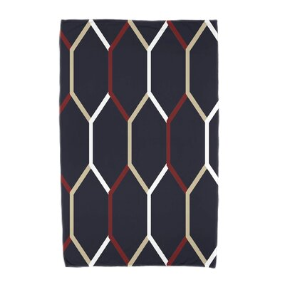 Cool Shades Beach Towel Color: Navy Blue