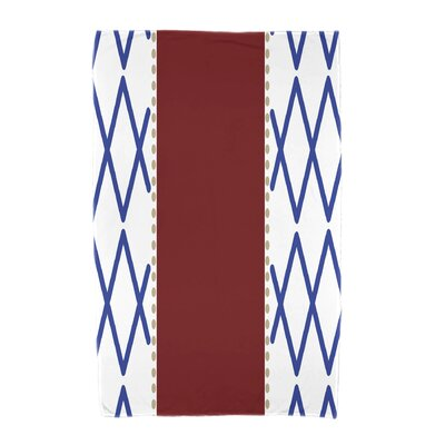 Knot Fancy Beach Towel Color: Red
