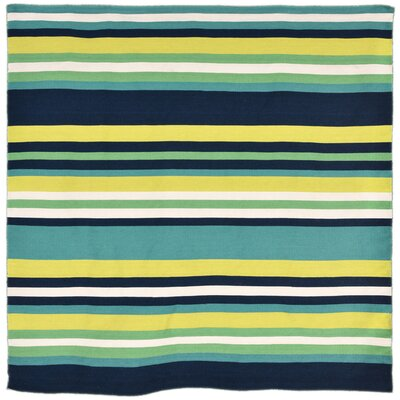 Ranier Hand-Woven Green Indoor/Outdoor Area Rug Rug Size: Square 8