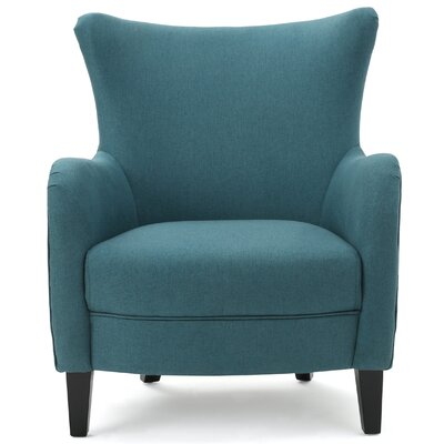 Lowell Fabric Arm Chair Upholstery: Dark Teal