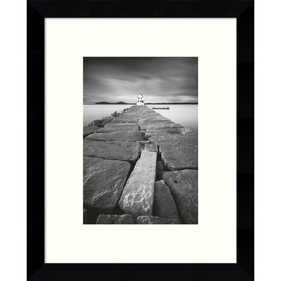 Breakwater Framed Painting Print