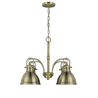 Bowdoinham 4-Light Shaded Chandelier