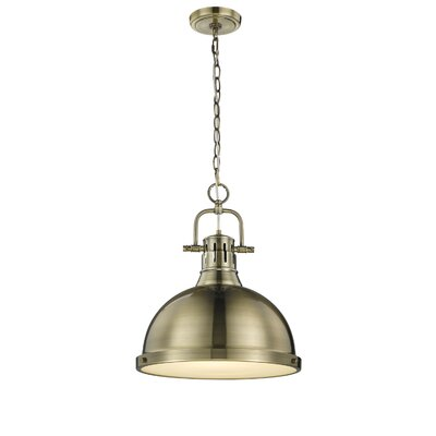 Bodalla 1-Light Bowl Pendant