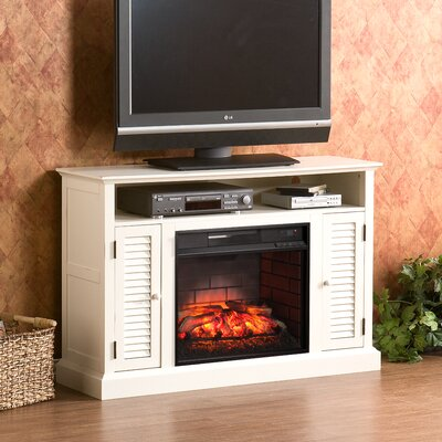 Lombardy TV Stand Infrared Electric Fireplace