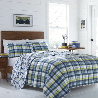Alexandria Reversible Quilt Set Size: King