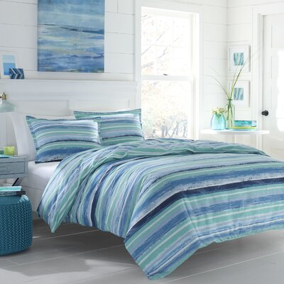 Chapelcrest Reversible Duvet Cover Set Size: Full/Queen