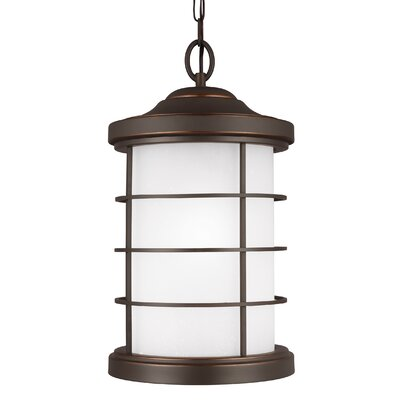 Breakwater Bay Newcastle 1 Light Outdoor Pendant