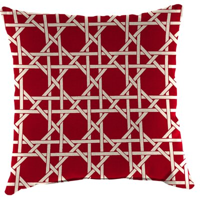 Truxton Outdoor Throw Pillow Fabric: Kane Coral