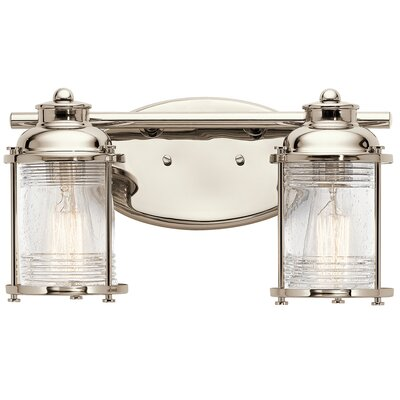 Breakwater Bay Kennedy 2 Light Vanity Light