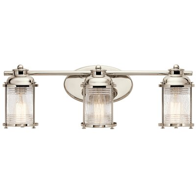 Breakwater Bay Kennedy 3 Light Vanity Light