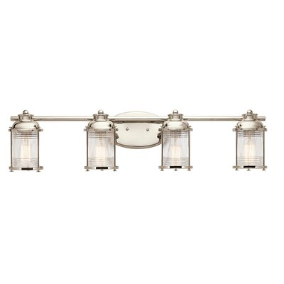 Breakwater Bay Kennedy 4 Light Vanity Light