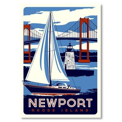 Nantucket Vintage Advertisement Size: 10