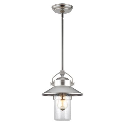 Breakwater Bay Virginia 1 Light Outdoor Hanging Pendant
