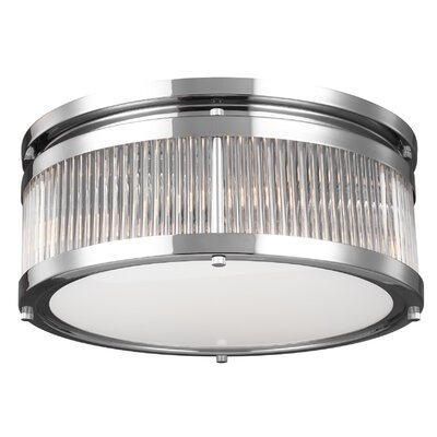 Breakwater Bay Josephine 3 Light Flush Mount