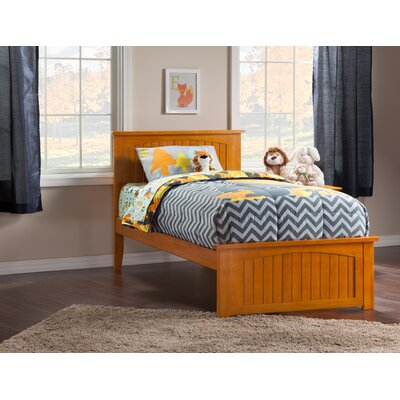 Oakmere Panel Bed Size: Twin XL, Finish: Caramel Latte