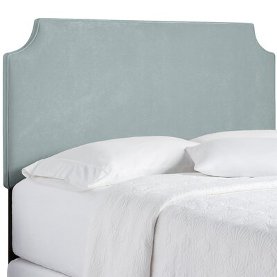Northridge Upholstered Panel Headboard Size: Queen, Upholstery: Light Blue