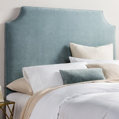 Briarcliffe Upholstered Panel Headboard Upholstery: Light Blue
