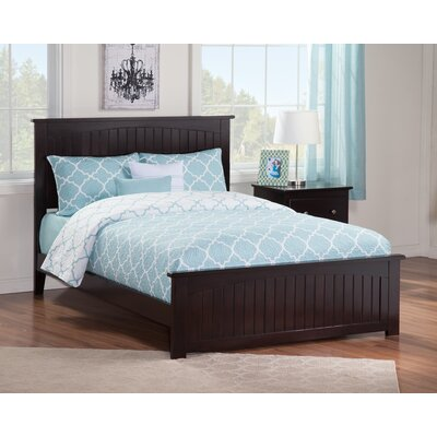 Graham Panel Bed Finish: Espresso, Size: Full