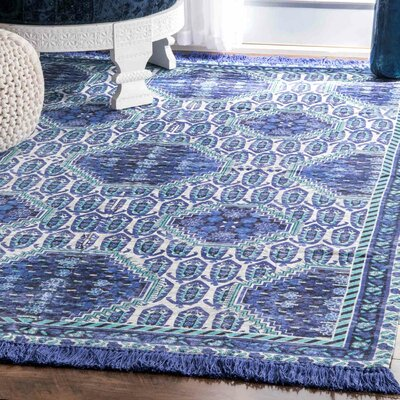 Breakwater Bay Little Compton Purple Area Rug