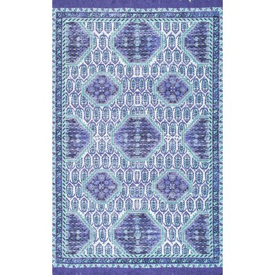 Little Compton Purple Area Rug Rug Size: Rectangle 76 x 96