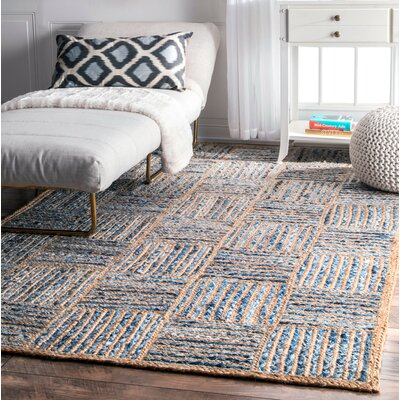 North AMonmouth Blue Area Rug Rug Size: 5 x 8