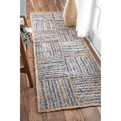 North AMonmouth Blue Area Rug Rug Size: Runner 26 x 8