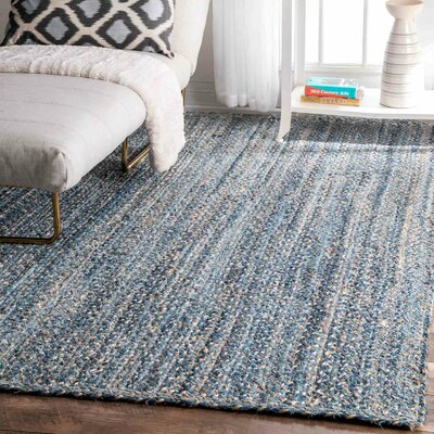Breakwater Bay North Waterboro Blue Area Rug