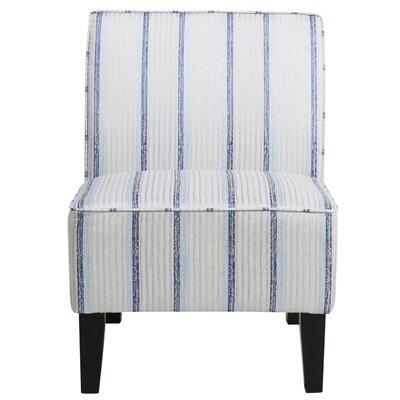 Hazeldell Striped Slipper Chair