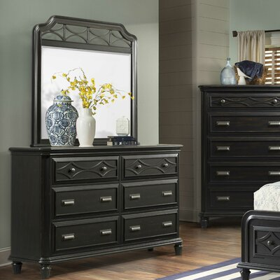 Westgate 6 Drawer Dresser with Mirror