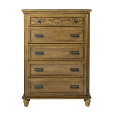 Westgate 5 Drawer Chest Color: Honey