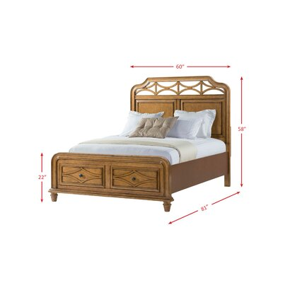 Westgate Panel Headboard Size: Full, Finish: Honey