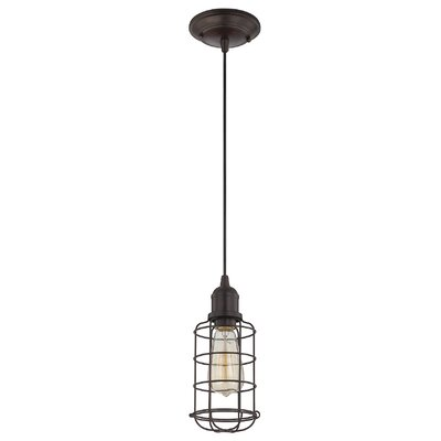 Belltown 1-Light Mini Pendant Finish: English Bronze