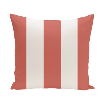 Caymen Outdoor Throw Pillow Color: Seed, Size: 18 H x 18 W x 1 D