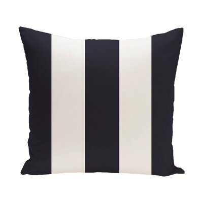 Caymen Stripe Print Outdoor Pillow Size: 20 H x 20 W x 1 D, Color: Bewitching