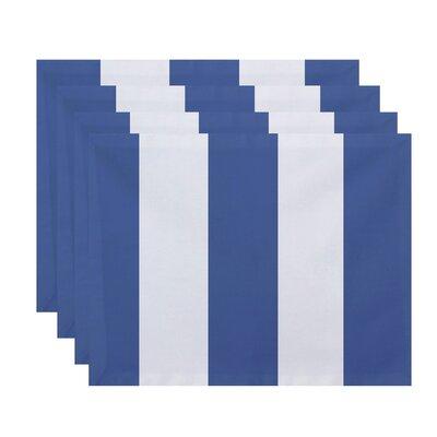 Caymen Stripe Placemat Color: Cornflower