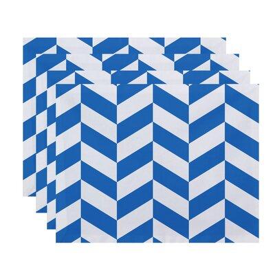 Kipling Geometric Placemats Color: Blue
