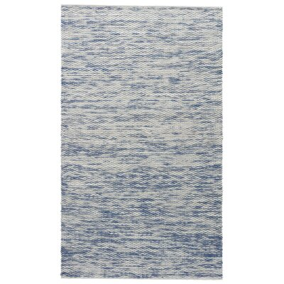 Breakwater Bay Norridgewock Whisper White/Infinity Textured Area Rug