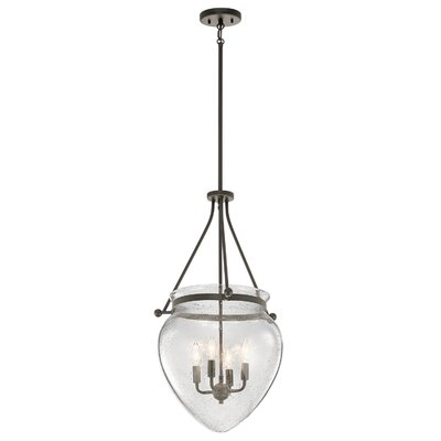 Edgemoor 4-Light Mini Pendant Finish: Olde Bronze
