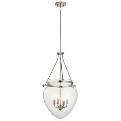 Edgemoor 4-Light Mini Pendant Finish: Polished Nickel