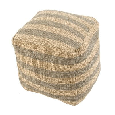 Thornton Pouf Upholstery: Gray