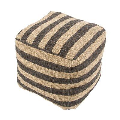 Thornton Pouf Upholstery: Black