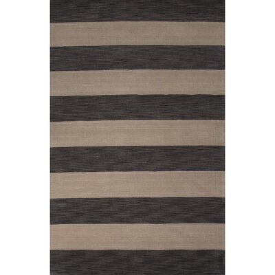 Sand Hill Wool Hand Tufted Oyster Gray/Ivory Area Rug Rug Size: 2 x 3