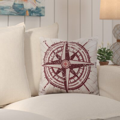 Sweetwood Charismatic Compass Outdoor Throw Pillow Size: 26 H x 26 W x 4 D