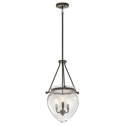 Edgemoor 3-Light Mini Pendant Finish: Olde Bronze