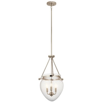 Edgemoor 3-Light Mini Pendant Finish: Polished Nickel