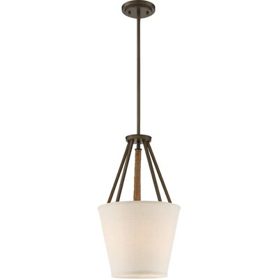 Bellvue 3-Light Foyer Pendant Finish: Mahogany Bronze, Size: 20.63 H x 12 W x 12 D
