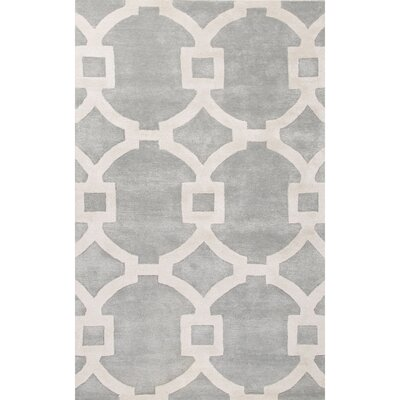 Bering Hand-Tufted Blue Area Rug Rug Size: 96 x 136