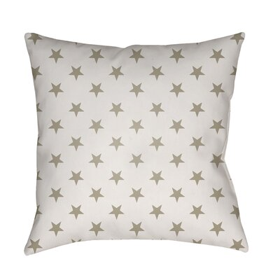 Seagate Indoor/Outdoor Throw Pillow Color: Neutral, Size: 18 H x 18 W x 4 x D