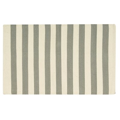 Ellsberg Doormat Color: Silver, Mat Size: Rectangle 2 x 3